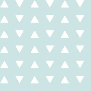 triangles aviary blue || the lilac grove collection