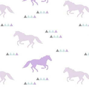 wild horses || lilac grove collection
