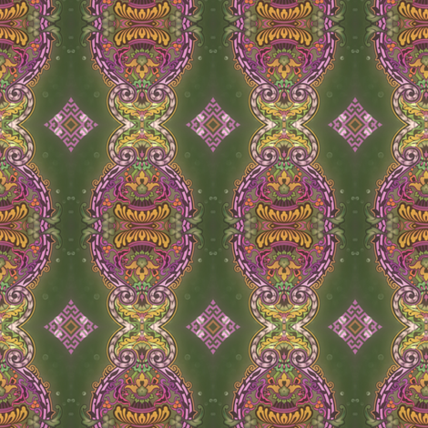 green garden II fabric by janbalaya on Spoonflower - custom fabric