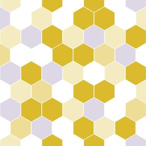 Honeycomb Golden Yellow Mix