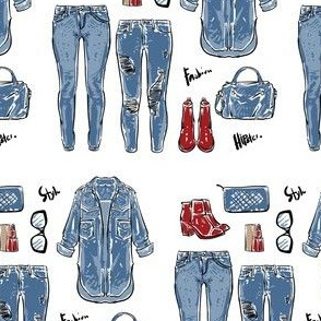 Denim Fashion Essentials
