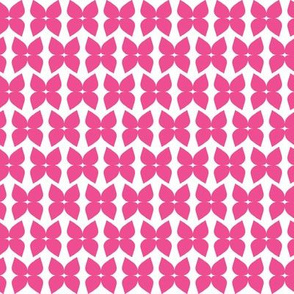 Flower bows pink