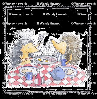 hedgehog fry up