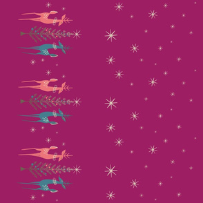 Holiday Reindeer - Purple