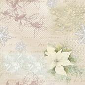 Linen Lace Gift Wrap