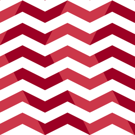wavy chevron - candy cane red  fabric by weavingmajor on Spoonflower - custom fabric