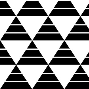 Striped Triangle