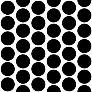 Black Circles on White