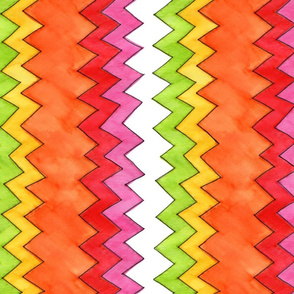 Fruity Chevron - vertical