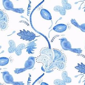 Seamless_blue_wallpaper_2_birds_and_flowers