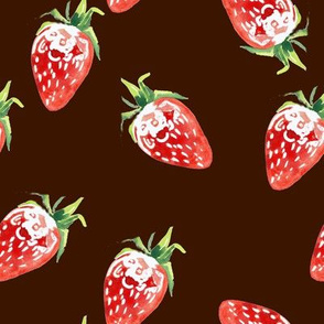 Seamless_strawberry_on_brown
