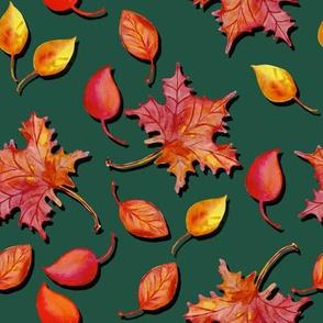 Watercolor automne