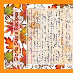Tea Towel Autumn Leaves recipe