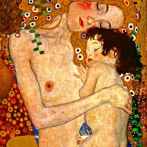 KLIMT - The 3 Ages of Motherhood