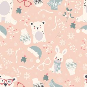Christmas animals 003