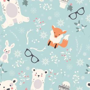 Christmas animals 001