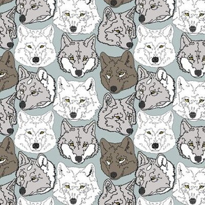 wolves_on_cool_green_background