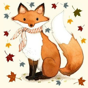 Dapper Autumn Fox