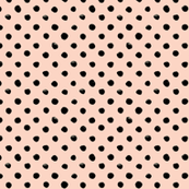 Watercolor Dots Blush black