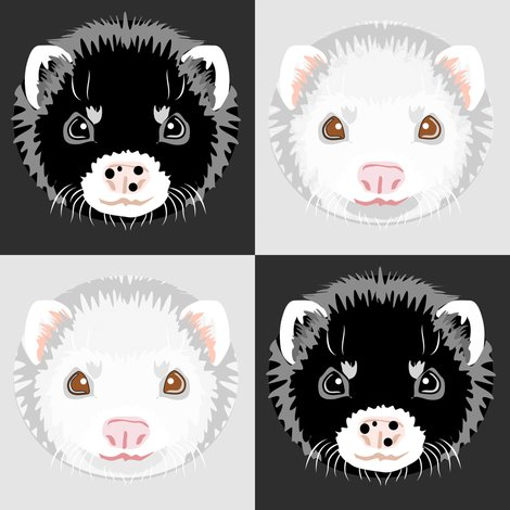Rblack_and_white_ferret_checkerboard_shop_preview