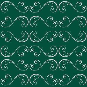Emerald Swirls