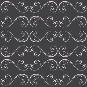 Charcoal Swirls