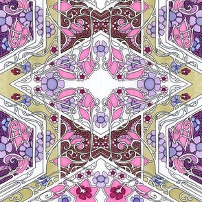 Flowery Geometry