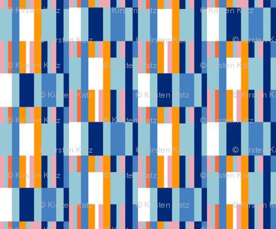 Riviera Stripes Blue