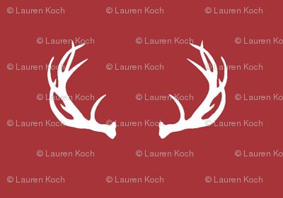 antlers // Lumberjack - scarlet
