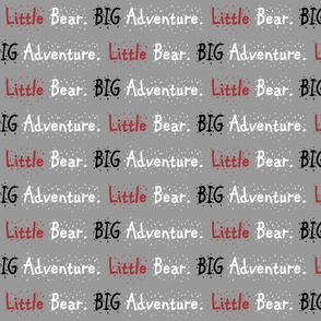 Little bear big adventure // Lumberjack