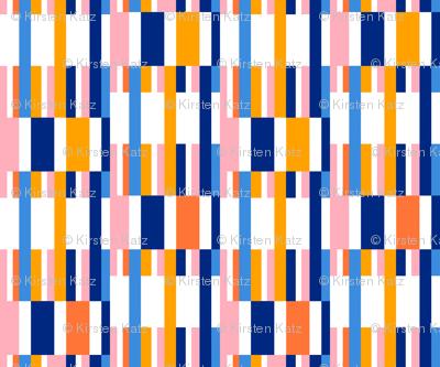 Riviera Stripes White