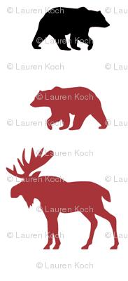 Moose & Bears // Lumberjack too