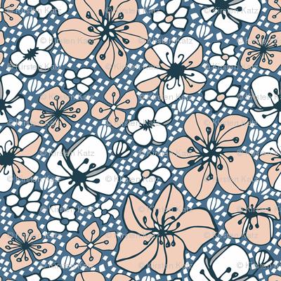 Prairie Floral Blue
