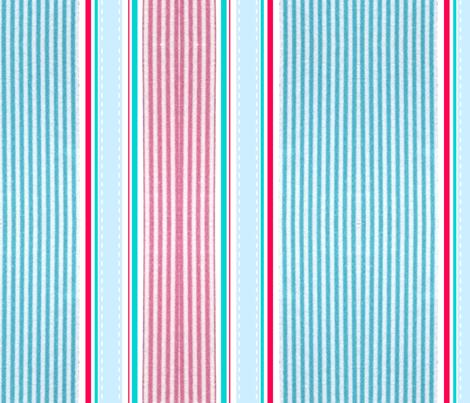 Candy Striper fabric by floramoon on Spoonflower - custom fabric