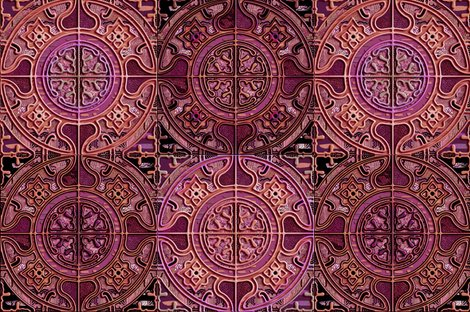 Rmandala_tile_groupe_de_4_bw_pink_gold_cooper_burgundy_by_paysmage_shop_preview