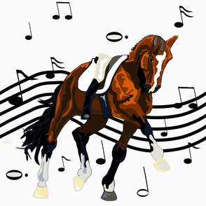dressage freestyle runner-gry