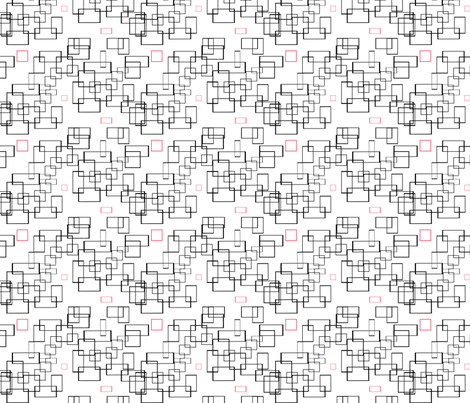 Squares Squared fabric by della_vita on Spoonflower - custom fabric