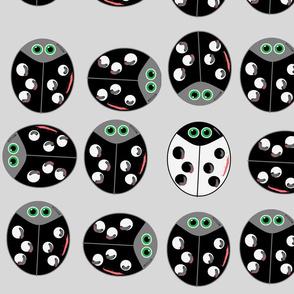 Ladybug Oddball Black/White
