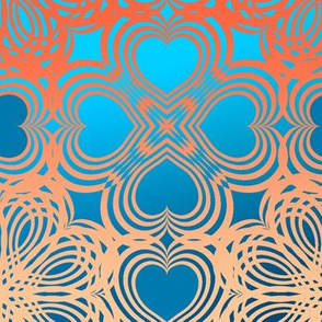 heart_geometric14-3_Orange Aqua