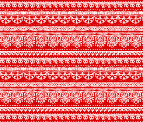 The Christmas linen fabric by pinky_wittingslow on Spoonflower - custom fabric