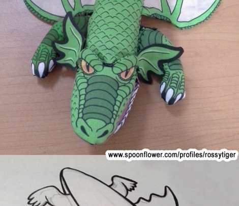 Dragon Pencil Case