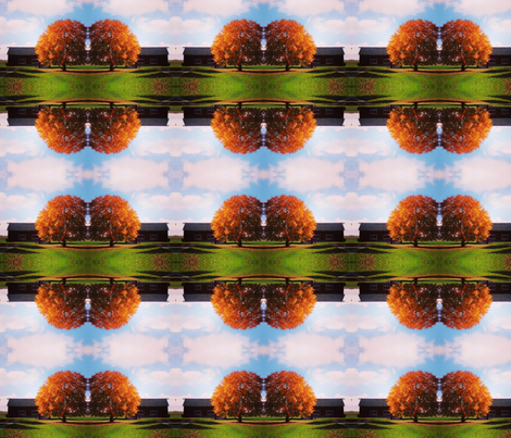 Cider Falls fabric by bombaycatdesign on Spoonflower - custom fabric