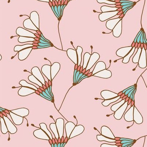 Falling Flowers Blush