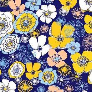 Fleur des Champs Blue