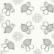Bee-u-tiful bees sketch