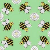 Bee-u-tiful bees green