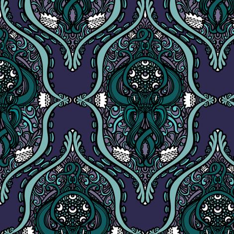 Octopus Lace 1 fabric by jadegordon on Spoonflower - custom fabric