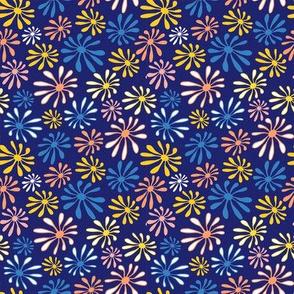 Sylvania Flowers Blue