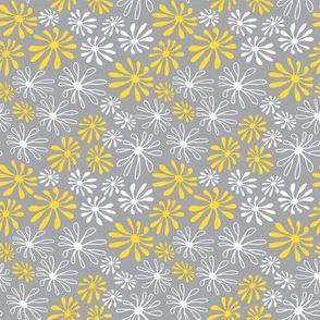 Sylvania Flowers Grey