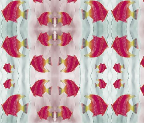 Something Fishy  fabric by floramoon on Spoonflower - custom fabric
